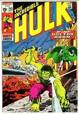 INCREDIBLE HULK 143   VF- (7.5)   DOCTOR DOOM!  2nd DOC SAMSON!  Doc Doom Movie!