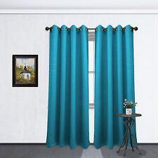 "Fuchsia Hot Pink Grommet Blackout Room Window Curtain Panel,  1Pc, Tessa 54""x84"""