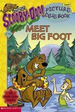 Scooby-Doo Meet Big Foot Picture Clue Cartoon Network Scholastic Level1 book New