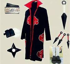 Naruto Itachi Uchiha Cosplay Costume White Shoes Whole set UK