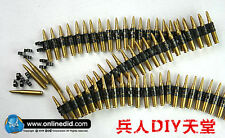 1/6 DID DML 7.62 caliber 50PC bullet chain F SS WWII MG42/34 metal machine MODEL