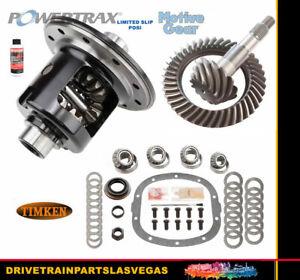Limited Slip Posi GM Chevy 7.6 Powertrax 4.11 Ring Pinion Gear Set Timken Master