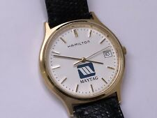 vintage hamilton maytag special limited edition date watch ✅