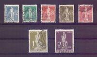 Berlin 1949 - UPU Stephan - MiNr. 35/41 rund gestempelt - Michel 320,00 € (862)