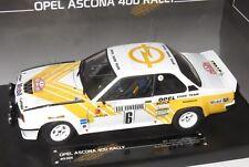 1/18 Opel Ascona 400  Opel Euro Team  Rally Monte Carlo 1981 #6 J.Kleint