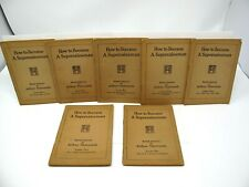 HOW TO BECOME A SUPERSALESMAN Arthur Newcomb Seven Lessons 1-7 Booklets SC 1920