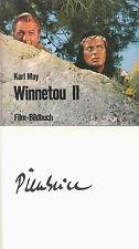 Karl May: Winnetou II Filmbildband von Pierre Brice original signiert Autogramm
