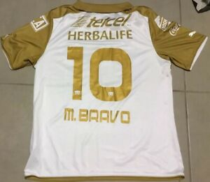Men's Pumas UNAM MARTIN BRAVO #10 Sz XL jersey puma 2013-2014 futbol soccer