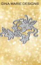 Gina Marie designs metal cutting dies Flower branch