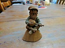 """New ListingVintage 1985 Tom Clark """"Jacques"""" Gnome Singing & Playing Instrument"""