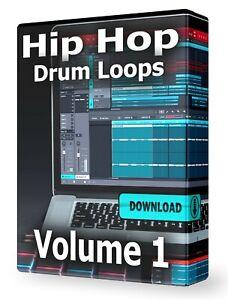 Hip Hop WAV Drum Loops Pro Tools FLStudio Ableton Logic MPC Reaper Acid Reason