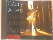 HARRY ALLEN MEETS JOHN PIZZARELLI TRIO - CD