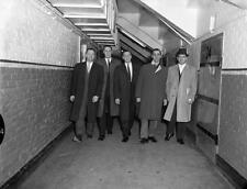 Jean Beliveau, Jaques Plante, Bernie Geoffrion, Dickie Moore 8x10 Photo