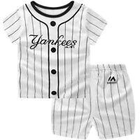 Brand Inspired New York Yankees Baby & Toddler Shorts Set