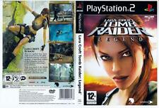 Tomb Raider: Legend - Playstation 2.  Complete