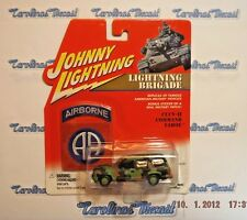 JOHNNY LIGHTNING BRIGADE CUCV-II COMMAND TAHOE AMERICAN MILITARY CAR +BONUS DD6