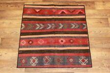 Handgewebter Kelim 115x125 cm Orientteppich Nomadenteppich Nomadenkelim NEU