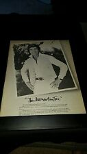 Engelbert Humperdinck This Moment In Time Rare Original Promo Poster Ad Framed!