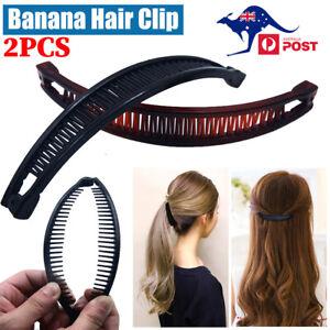 Hair Claw Banana Hair Clip Hair Accessories Women Ponytail Holder Hair Barrette
