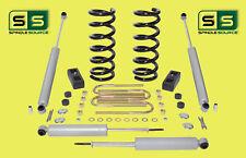 """2001-2010 Ford Ranger 2WD 3""""/3"""" Lift Kit 4 Cyl Coil Springs /Rr Blocks /4 Shocks"""