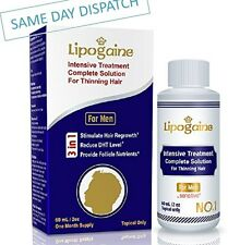 LIPOGAINE FOR MEN SENSITIVE TREATMENT HAIR LOSS REGROWTH ANTI DHT SCALP SOLUTION