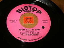 SAMMY TURNER - FOOLS FALL IN LOVE - STAY MY LOVE - LISTEN - RNB SOUL POPCORN
