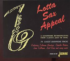 Lotta Sax Appeal - A Saxophone Retrospective from Classic Jazz to Cool - 4CD Box