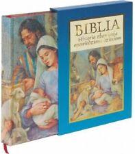 Biblia Historia Zbawienia Opowiedziana Dzieciom twarda oprawa plus etui Dzieci