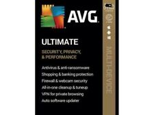AVG ULTIMATE  ANTIVIRUS INTERNET SECURITY VPN 1 DEVICE   Electronic delivery