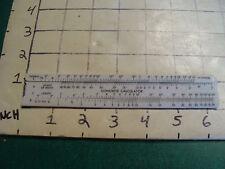 vintage Pocket Slide rule:  plastic: CONCRETE CALCULATOR newport ready mix