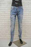 JACK & JONES Jeans Slim Fit Pantalone Uomo Taglia 34 Pants Men's Gamba Dritta