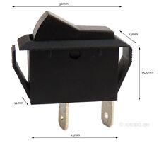 Wippschalter EIN-AUS Schalter Einschalter Ausschalter ON-OFF 12V KFZ 2-Pin #5610