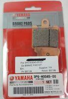NEW GENUINE YAMAHA 3P6-W0045-00 Brake Pad Kit 2006-2016 FJR13, FJR1300A, FJR13AB
