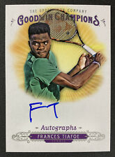 2018 Goodwin Champions Frances Tiafoe On Card Auto Tennis