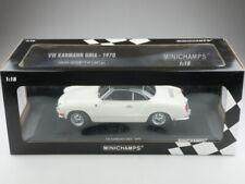 Minichamps 1/18 VW Karmann Ghia Coupe Typ 14 1970 black white limited Box 514292