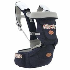 Baby Sling Carrier Ergonomics Safety Lightweight Hip Seat with Lumbar Support