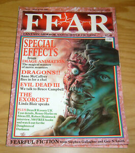 Fear (Magazine) #6 FN; Newsfield   save on shipping - details inside