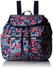 LeSportsac Classic Floral Delightful Navy Small Edie Backpack NWT $80 9808  D920