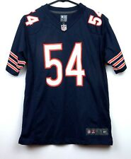 NIKE BRIAN URLACHER #54 CHICAGO BEARS FOOTBALL JERSEY - 2018 HALL OF FAME CLASS