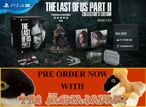 COLLECTORS EDITION Ellie statue THE LAST OF US PART II 2 PLAYSTATION PS4 PS5