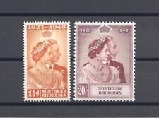 NORTHERN RHODESIA 1948 SG 48/49 RSW MNH Cat £110.30