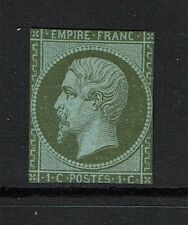 France # 12, Mint No Gum, Hinge Rem, two pinholes, close margins - Lot 073017