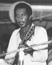 BLUES/FUNK GUITAR PHOTO: JIMMY NOLEN (James Brown's guitarist) Chicago, 1980