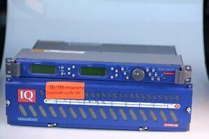 Lot Snell and Wilcox IQ Modular 3U IQH3A-0-P + IQ Modular Model 1QHSBOX-RL-AP
