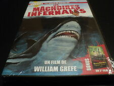 "COF 2 DVD NEUF ""LES MACHOIRES INFERNALES Grefe / SECRET PULSION William Shatner"""