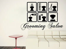 Dog Care Wall Decal Vinyl Decals Grooming Salon Sticker Pet Shop Home Decor SM25