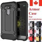 For LG G4 / LG G5 & LG G6 Case - Dual Layer Hybrid Shockproof Hard Armor Cover