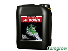 Growth Technology - Ph Down 5L - Solution Hydroponics Aquarium