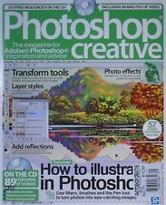 HOW TO ILLUSTRATE IN PHOTOSHOP / PHOTOSHOP CREATIVE #71 + LOADED CD DISC!
