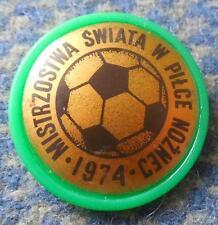 WORLD CUP SOCCER FOOTBALL GERMANY MUNICH MUNCHEN 1974 PIN BADGE